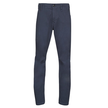 Clothing Men chinos G-Star Raw VETAR SLIM CHINO Mazarine / Blue