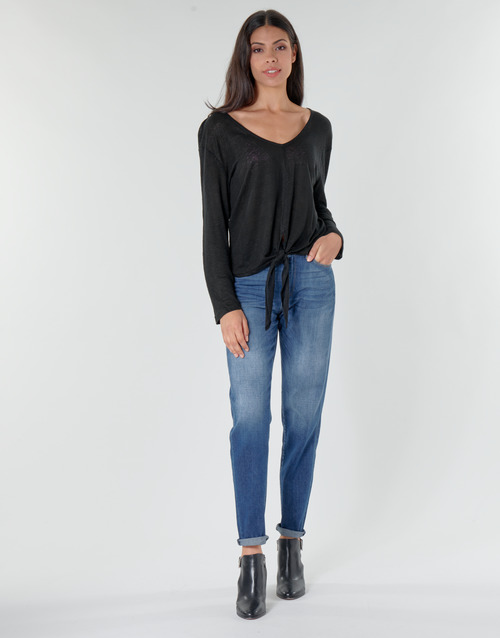 Clothing Women Straight jeans G-Star Raw 3301 HIGH STRAIGHT 90'S ANKLE WMN Faded / Cobalt
