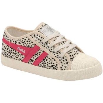Shoes Girl Low top trainers Gola Coaster Cheetah Girls Trainers Multicolour