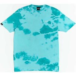 Clothing Boy Short-sleeved t-shirts Wrung T-shirt  New Sign bleu turquoise/blanc/noir