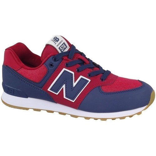 Shoes Children Low top trainers New Balance 574 Red,Blue