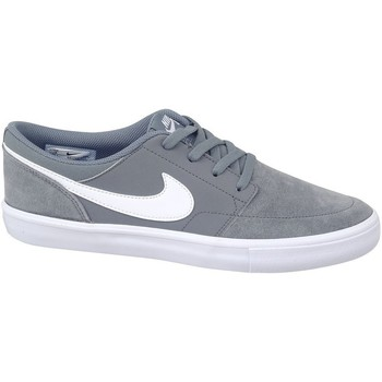 Shoes Men Low top trainers Nike SB Solarsoft Portmore II Grey