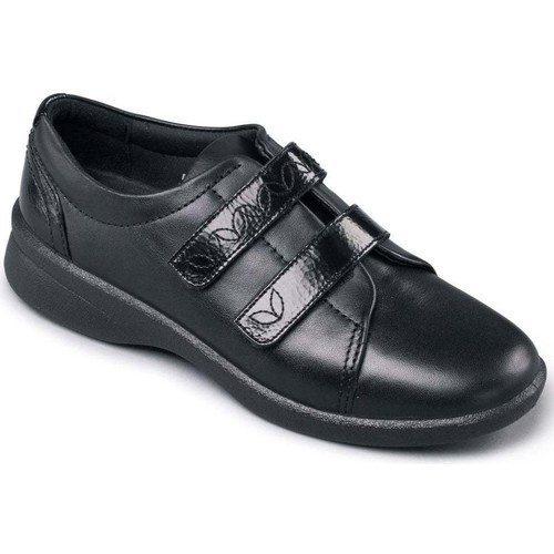 Shoes Women Low top trainers Padders Revive 2 Womens Casual Rip Tape Shoes black