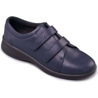 Shoes Women Derby Shoes & Brogues Padders Revive 2 Womens Casual Rip Tape Shoes blue