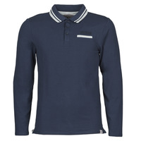Clothing Men Long-sleeved polo shirts Guess CLIVE LS POLO Marine