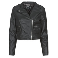 Clothing Women Leather jackets / Imitation leather Guess FRANCES JACKET Black