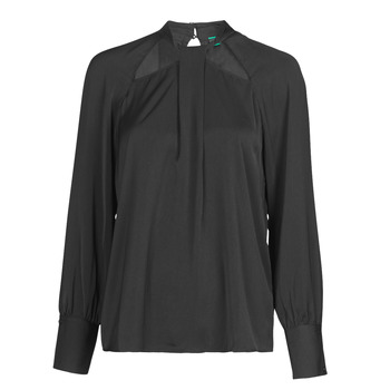 Clothing Women Tops / Blouses Guess FLORENTINA Black