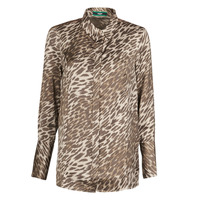 Clothing Women Tops / Blouses Guess VIVIAN Leopard
