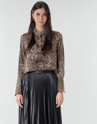 Clothing Women Tops / Blouses Guess VIVIAN Leopard