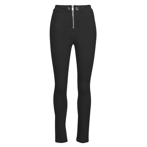 Clothing Women Leggings Guess PHOEBE Black