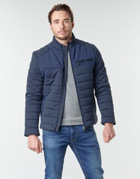 Clothing Men Duffel coats Guess STRETCH TECHNICAL Marine