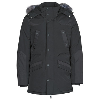 Clothing Men Parkas Guess COOL WINTER Black