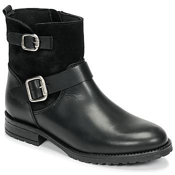 Shoes Girl Mid boots Citrouille et Compagnie NIVOLE Black