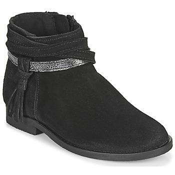 Shoes Girl Mid boots Citrouille et Compagnie NIVOLET Black
