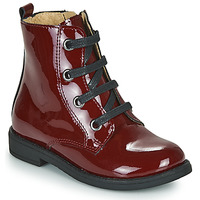 Shoes Girl Mid boots Citrouille et Compagnie HEMANU Red