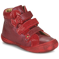 Shoes Girl Hi top trainers Citrouille et Compagnie HODIL Red