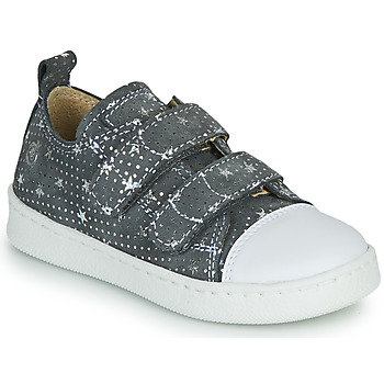 Shoes Girl Low top trainers Citrouille et Compagnie NADIR Grey / Silver