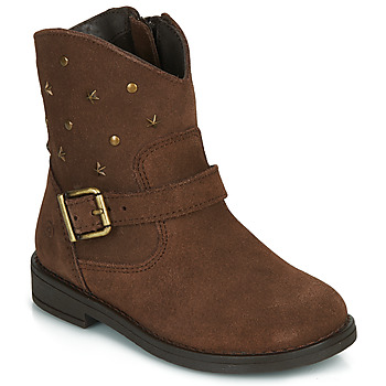 Shoes Girl Mid boots Citrouille et Compagnie NESTI Brown