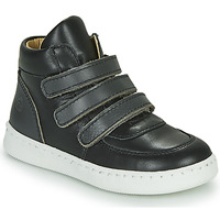 Shoes Boy Hi top trainers Citrouille et Compagnie NOSTI Black / Grey