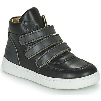 Shoes Boy Hi top trainers Citrouille et Compagnie NOSTI Black / Grey