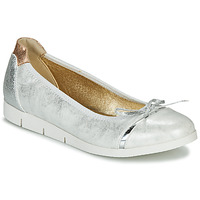 Shoes Women Flat shoes Les Petites Bombes FELICIE Silver
