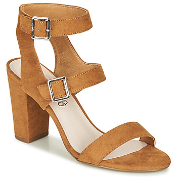 Shoes Women Sandals Les Petites Bombes GRACE Camel