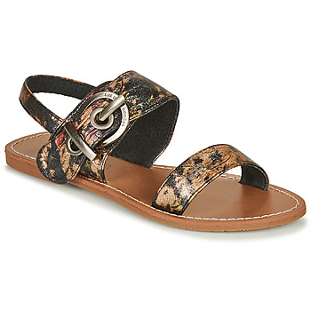Shoes Women Sandals Les Petites Bombes PERVENCHE Black