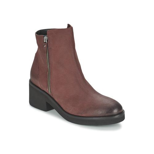 Shoes Women Mid boots Vic ASCILLE Bordeaux