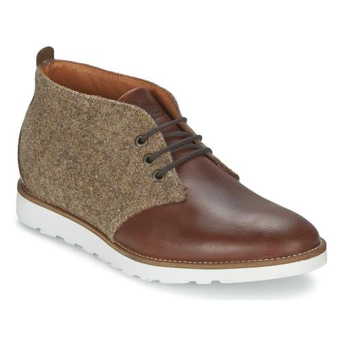 Shoes Men Mid boots Wesc DESERT BOOT Brown