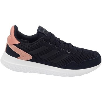 Shoes Women Low top trainers adidas Originals Archivo Black,Pink