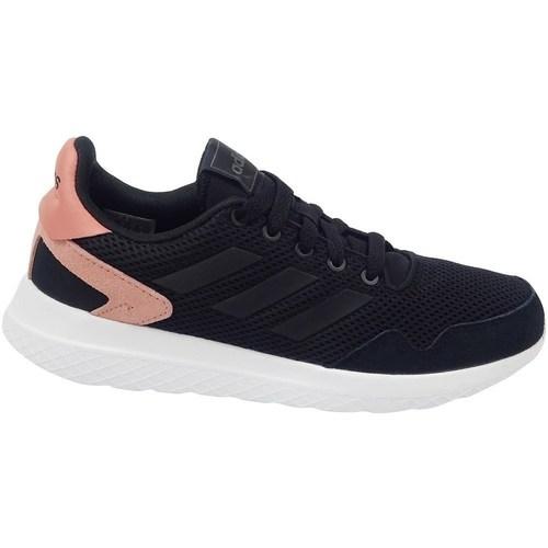 Shoes Women Low top trainers adidas Originals Archivo Black,Pink