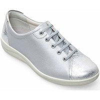 Shoes Women Low top trainers Padders Galaxy 2 Womens Casual Lace Up Shoes Silver