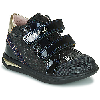 Shoes Girl Hi top trainers Pablosky 87529 Marine