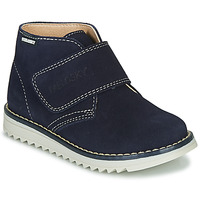 Shoes Boy Mid boots Pablosky 598128-J Marine