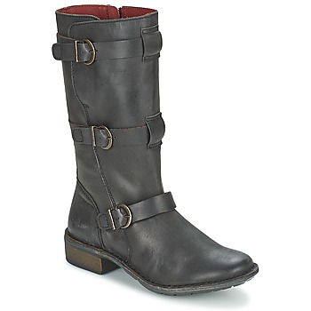 Shoes Women High boots Kickers GROWUP Black