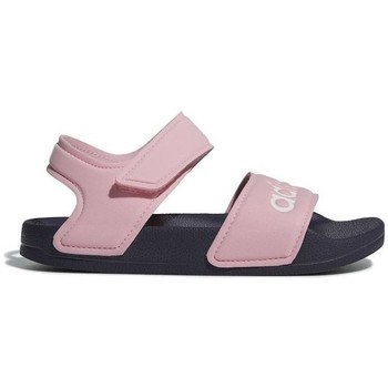 Shoes Girl Outdoor sandals adidas Originals Adilette Sandal Pink