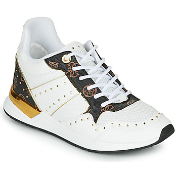 Shoes Women Low top trainers Guess REJJY White