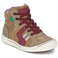 Hi top trainers Kickers ZIGUERS
