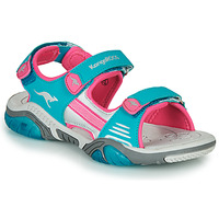 Shoes Children Outdoor sandals Kangaroos Sandalshine Blue / Pink