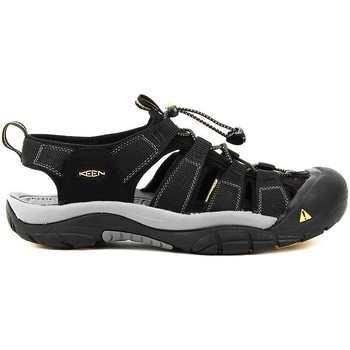 Shoes Men Outdoor sandals Keen Newport H2 Black