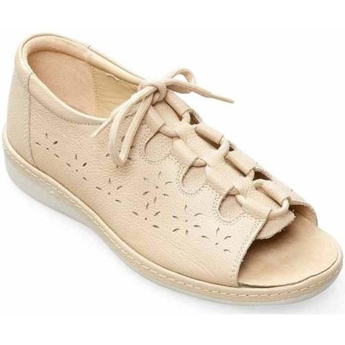 Shoes Women Sandals Padders Shoreline Womens Wide Fit Ssandals BEIGE