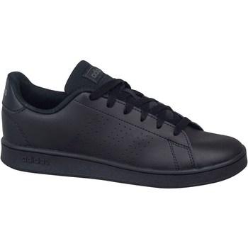 Shoes Children Low top trainers adidas Originals Advantage K Black