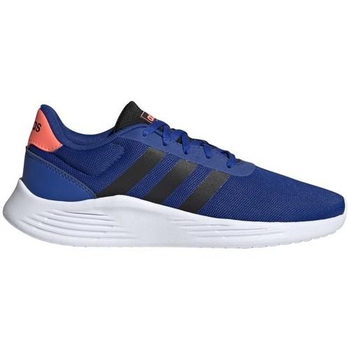 Shoes Boy Running shoes adidas Originals Lite Racer White, Blue, Orange