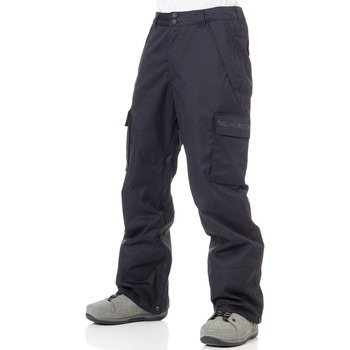 Clothing Men Cargo trousers DC Shoes Black Banshee Snowboarding Pants Black