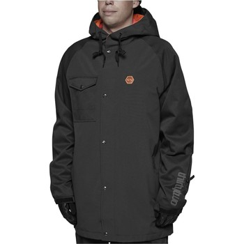 Clothing Men Parkas Thirtytwo Black Knox Snowboarding Jacket Black