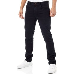 Clothing Men Slim jeans Globe Blue Black Goodstock Jeans Blue