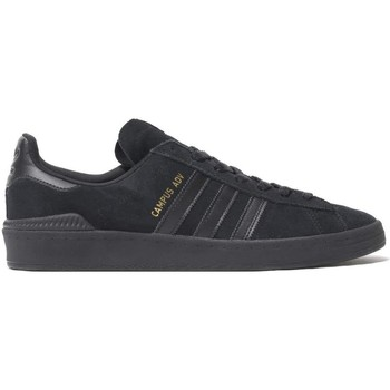 Shoes Men Low top trainers adidas Originals Core Black-Gold Metalic Campus ADV Shoe Black