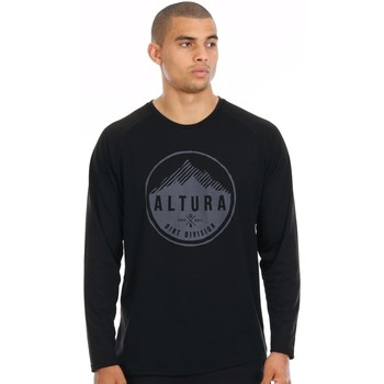 Clothing Men Long sleeved tee-shirts Altura Black 2016 Alpine Raglan T-Shirt Black