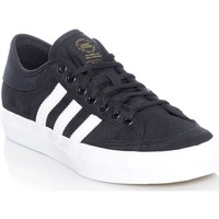 Shoes Men Low top trainers adidas Originals Black Core-Footwear White Matchcourt Shoe Black
