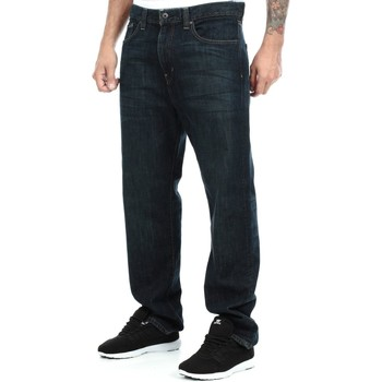 Clothing Men Straight jeans Fox Grease Monkey Garage Relaxed Jeans Blue